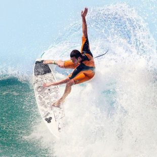 """Finished with """"Barbarian Days""""Surfing is on my mind. @jordysmith88 for @espnmag #surfinglife"""