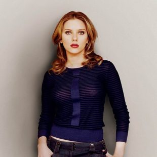 The seductive and inquisitive Scarlett Johansson