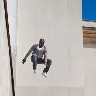 Parkour. Paris.