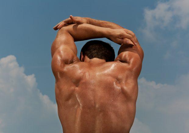 Matt Gunther Photographer SPORTS Runner stretching. Matt Gunther