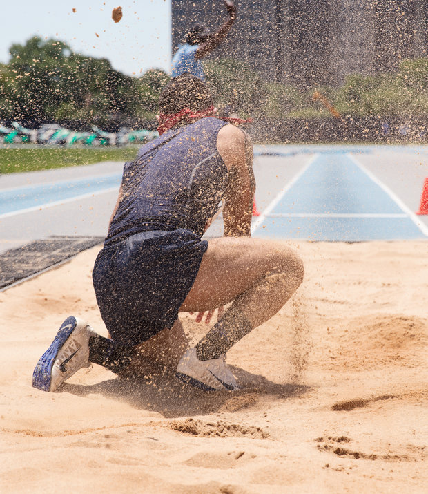 Matt Gunther Photographer SPORTS Long Jumpers. USATF. Matt Gunther