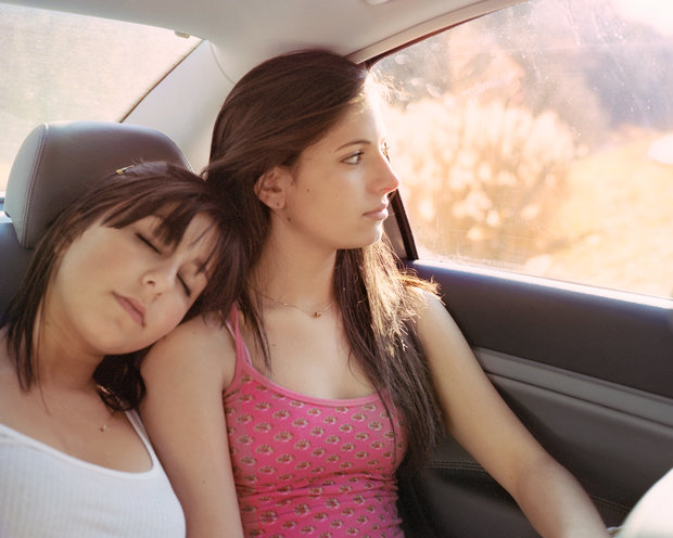 Matt Gunther Photographer TEEN SPIRIT chool-Cropped-girls-winter-girls-in-car-close-up-3.jpg