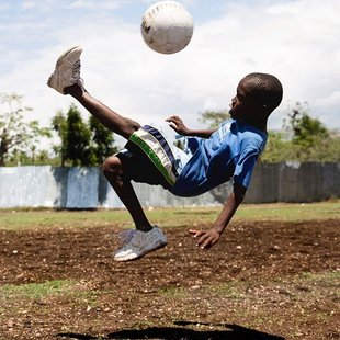 #Haiti kid can play #fila