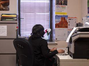 Matt Gunther Photographer Women's Prison Association Blue Nails.